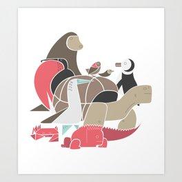 Galapagos Art Print