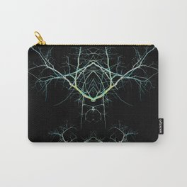 Neon Mirrored Trees 7 Carry-All Pouch