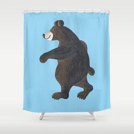 Bear Walk Shower Curtain