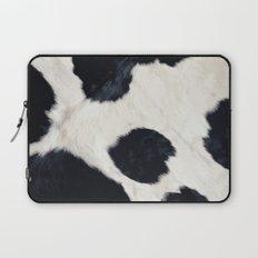 Cow Skin Laptop Sleeve