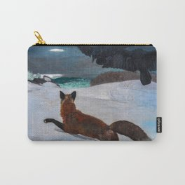 Winslow Homer's Fox Hunt Carry-All Pouch