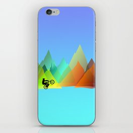 MTB Moutains Colors iPhone Skin