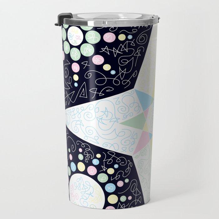 Synergy of Symmetry Travel Mug