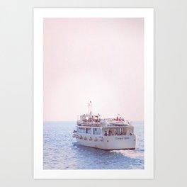Italian Ferry Art Print