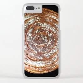 Rosemary Sourdough Spiral - 2015 Clear iPhone Case