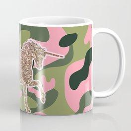 Girl Power Flying Unicorn Coffee Mug