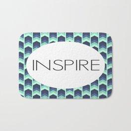 Inspire - One Little Word Bath Mat