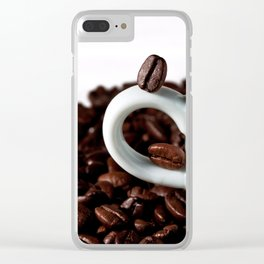 fragrant coffee Clear iPhone Case