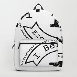 I Before E Except After C - Rule Exceptions - Funny Backpack