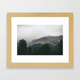 Above the Tree Line pt2 Framed Art Print
