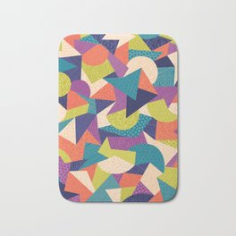 Trendy Abstract Geo Bath Mat