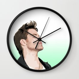 Chris Pine 6 Wall Clock