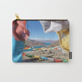 Flags that whisper well wishes  Carry-All Pouch
