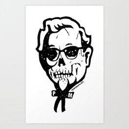 Skull Sanders No. 3 Art Print