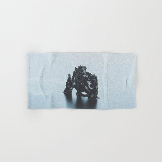 Hvitserkur, Iceland Hand & Bath Towel