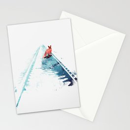 From nowhere to nowhere Stationery Cards