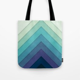 Retro Chevrons 001 Tote Bag