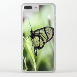 Glass Wing Butterfly Clear iPhone Case