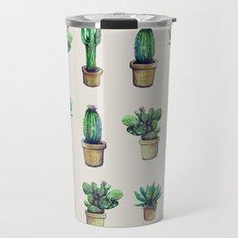 cactus collab franciscomff Travel Mug