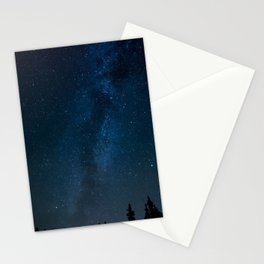 Night Sky Picture Stationery Cards
