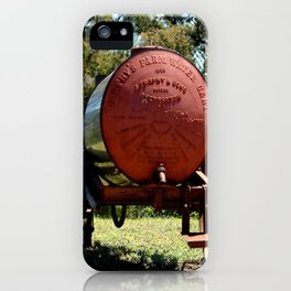 "Furphy's ""1920"" water Cart iPhone Case"
