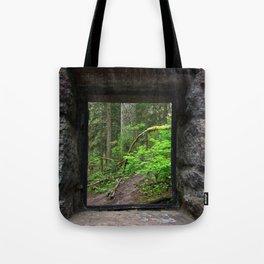Stone House Window Tote Bag