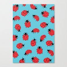 Ladybird Print Canvas Print