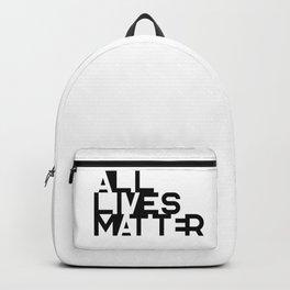 ALLIVES MATTER - Typo Backpack