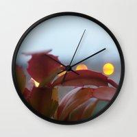 cacti Wall Clocks featuring Cacti by VAWART