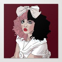 Crybaby Melanie Canvas Print