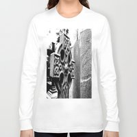 gothic Long Sleeve T-shirts featuring Gothic by Kim Ramage