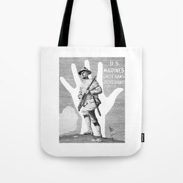 US Marines -- Uncle Sam's Right Hand Tote Bag