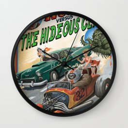 Hot Rod Robot versus the Hideous Claw Wall Clock