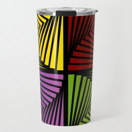 Vortex illusion Travel Mug