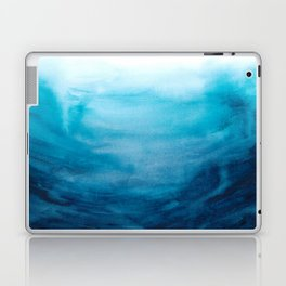 Dive into the deep blue sea Laptop & iPad Skin