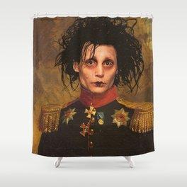 Edward Scissor Hands General Portrait Shower Curtain