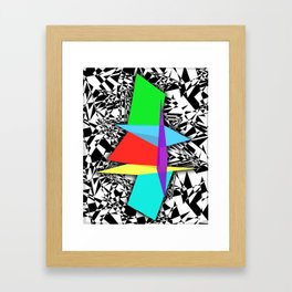 Color Sculpture Framed Art Print