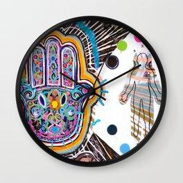 Hamsa Hand II Wall Clock