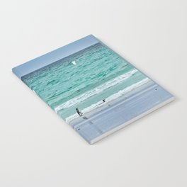 Falkland Island Seascape with Penguins Notebook