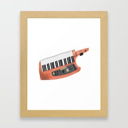 How Cool Can A Keytar Get? Framed Art Print