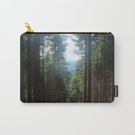 Forest in a Raw Summer Carry-All Pouch
