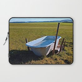 Outdoor pool | conceptual photography Laptop Sleeve