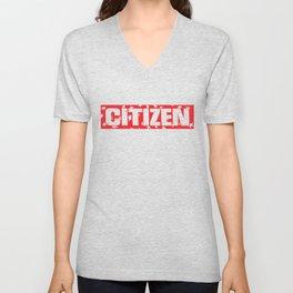citizen Unisex V-Neck