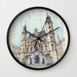 Venlo Old City Hall Wall Clock
