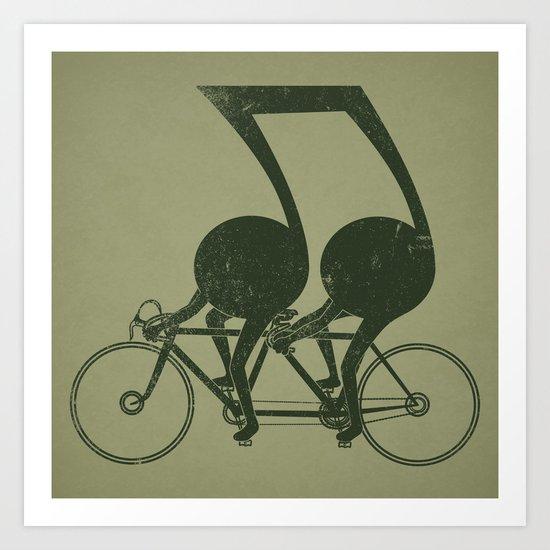 Tandem Art Print