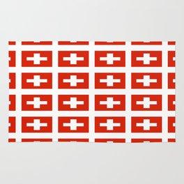 flag of Switzerland -,Swiss,Schweizer, Suisse,Helvetic,zurich,geneva,bern,godard,heidi Rug