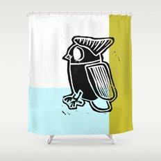 regular bird Shower Curtain