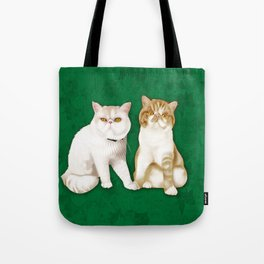 Teagues and Oliver Tote Bag