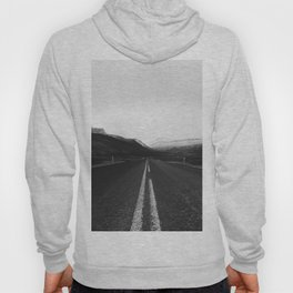 Roads End (Black and White) Hoody