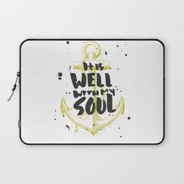 It is Well With My Soul Laptop Sleeve